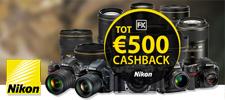 Cashback actie Nikon