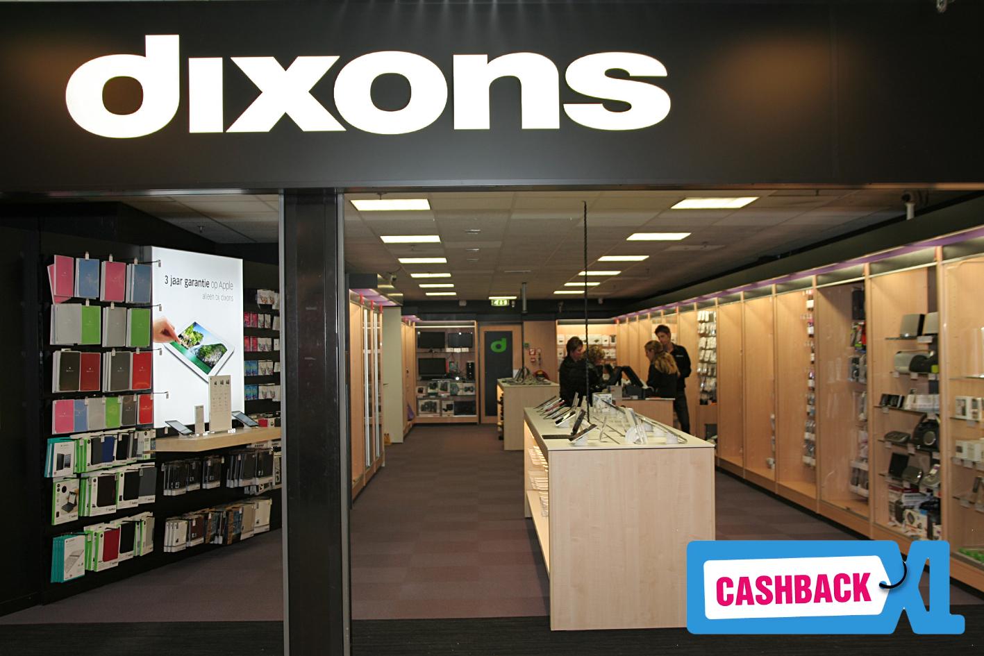 Dixons bij CashbackXL