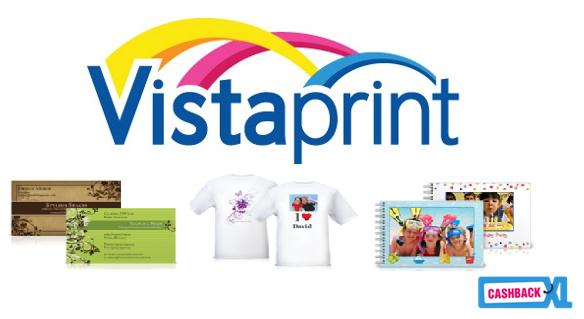 Vistaprint bij CashbackXL