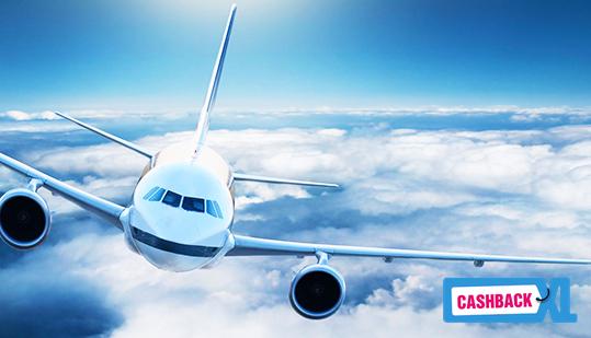 Vliegtickets bij CashbackXL