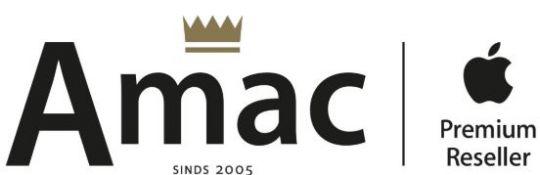 Amac op CashbackXL.nl